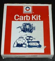 Carburateur Reparatie set 1975/1977 GM 17076028