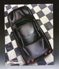 Bord met Corvette Z06