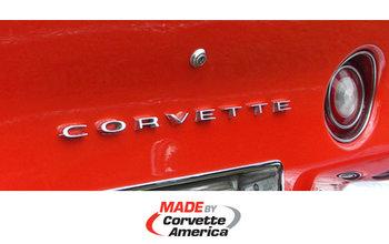 Embleem Achter Corvette  1968/1973